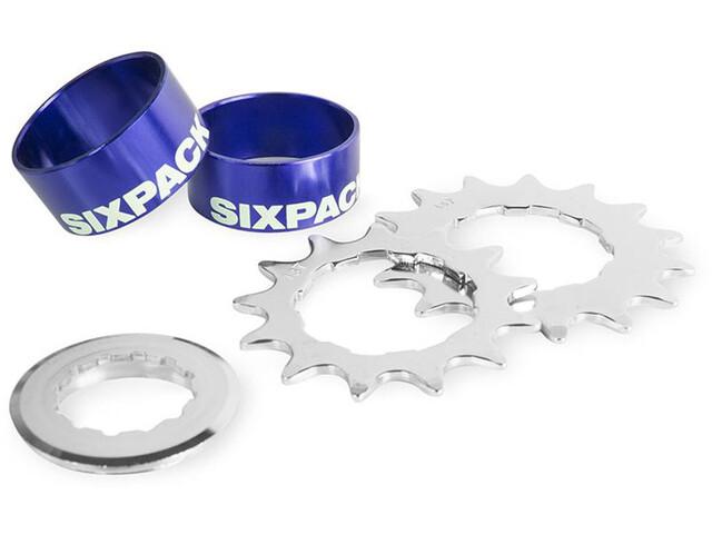 Sixpack Single Speed Kit, blue